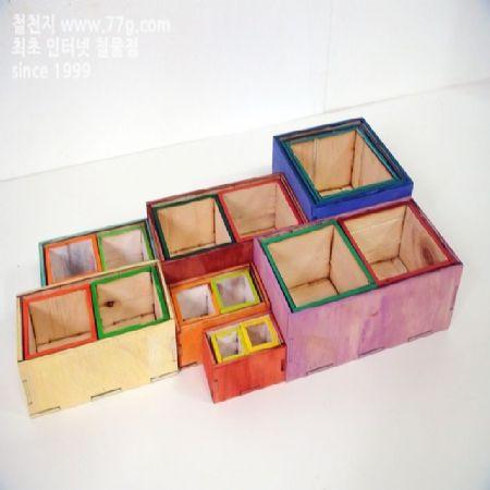 너무많아 당황 하셨죠? 선물용 나무 요술 박스 만들기..