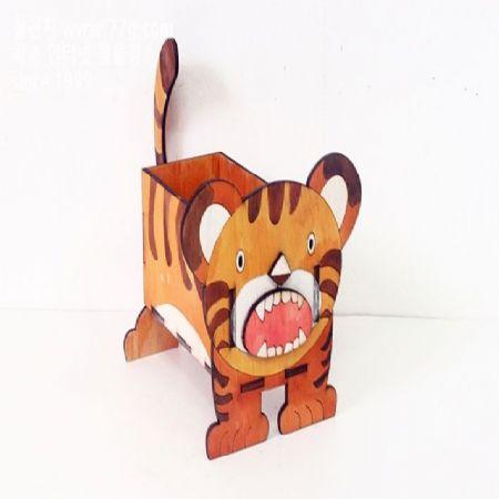 아이들과 함께 만드는 동물박스 시리즈 호랑이 박스 제작 방법