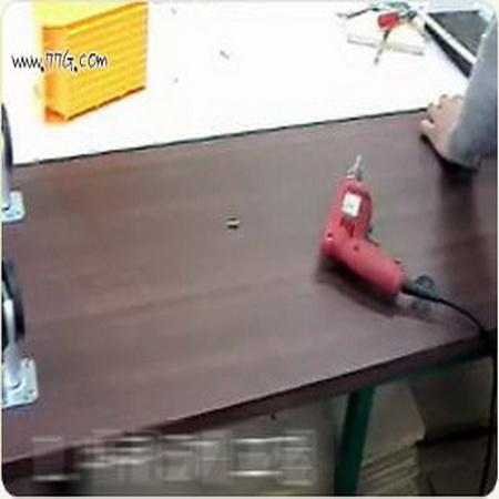 월넛, 백색의 조화 TV, 오디오장 30분만에 만들기 (동영상)