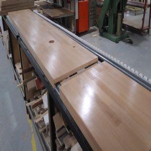 하드우드 원목상판  42mm(휨방지,요트등급 친환경 바니쉬 완성품)(오리나무) (2700*42*420)
