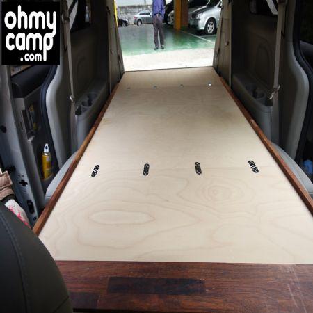 올뉴카니발 9인승 차박용 평탄화 오마이캠프
