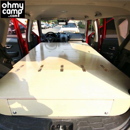 쏘울 차 구조변경없이 캠핑이 가능합니다. SUV 차박용 캠핑카