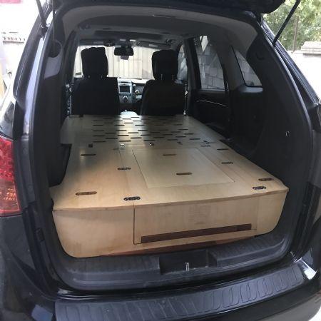 5인승 SUV 베라크루즈 침상을 1.8x1.3m  완성 했습니다.