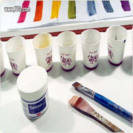 파스텔색 무지개 색상 만들기 천연스테인을 이용한 조색방법