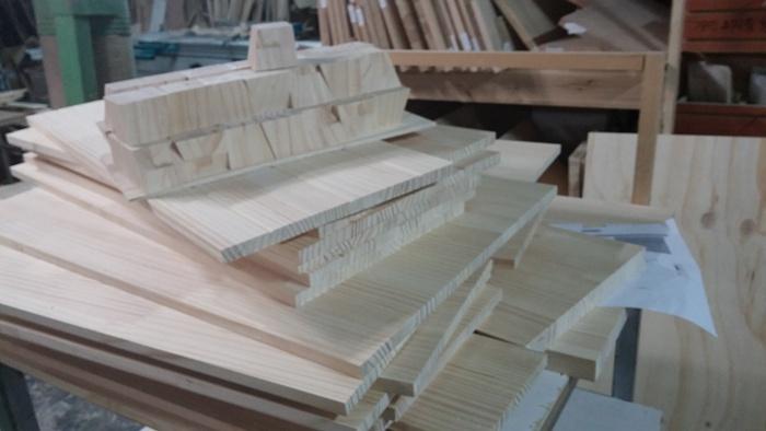 회원작품 - 철천지 - 소나무로 만든 아일랜드테이블