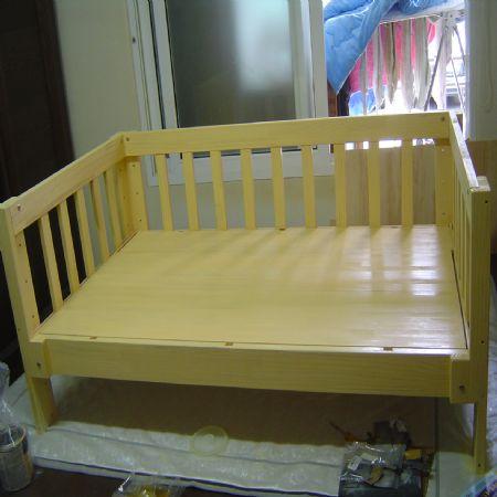 회원작품 - 철천지 - 소나무로 만든 아기침대