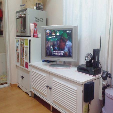 TV선반 변신!!!