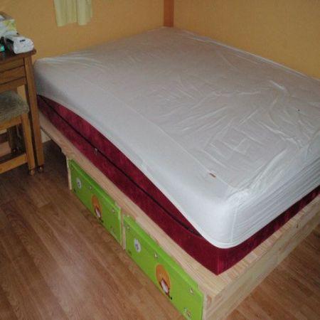 집성목으로 침대다이 만들기