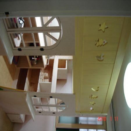 공간활용 만점 이층침대