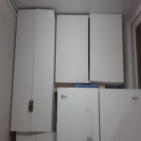 베란다 틈새공간장과 냉장고 상부장 만들기