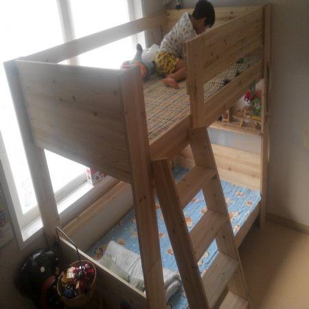 아들들의 분리형 2층침대