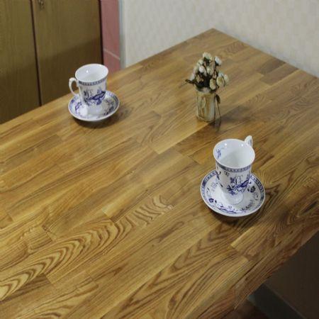 물푸레마무로 만든 식탁(벤치형 의자)
