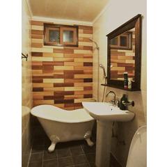 욕실 수납장과 욕실벽 리폼