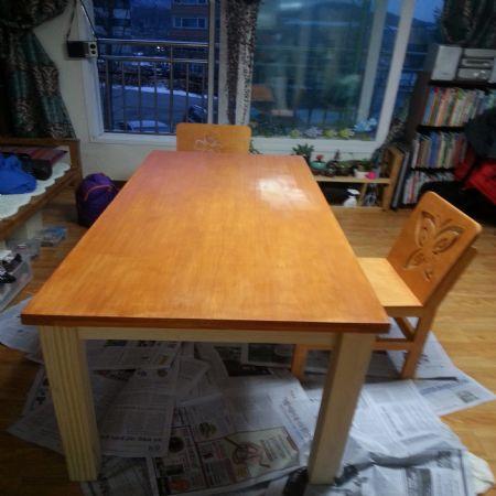 탁자와 의자