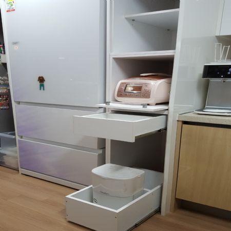 냉장고장 수납장 만들기