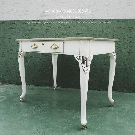 프렌치 스타일의 원목 테이블/책상 만들기.