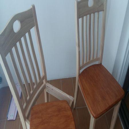의자를 완성했습니다.