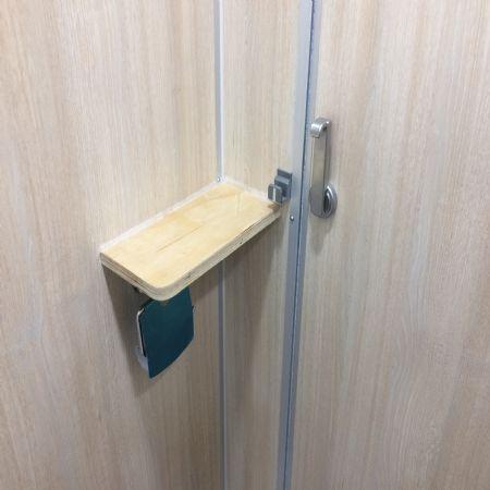 화장실 칸막이 선반 만들기