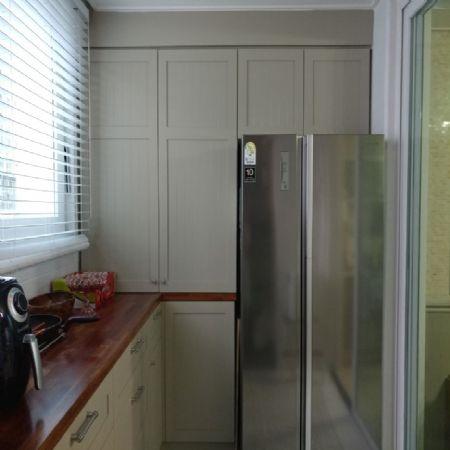 냉장고 위 상부수납장