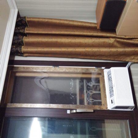 창문형에어컨 설치하기