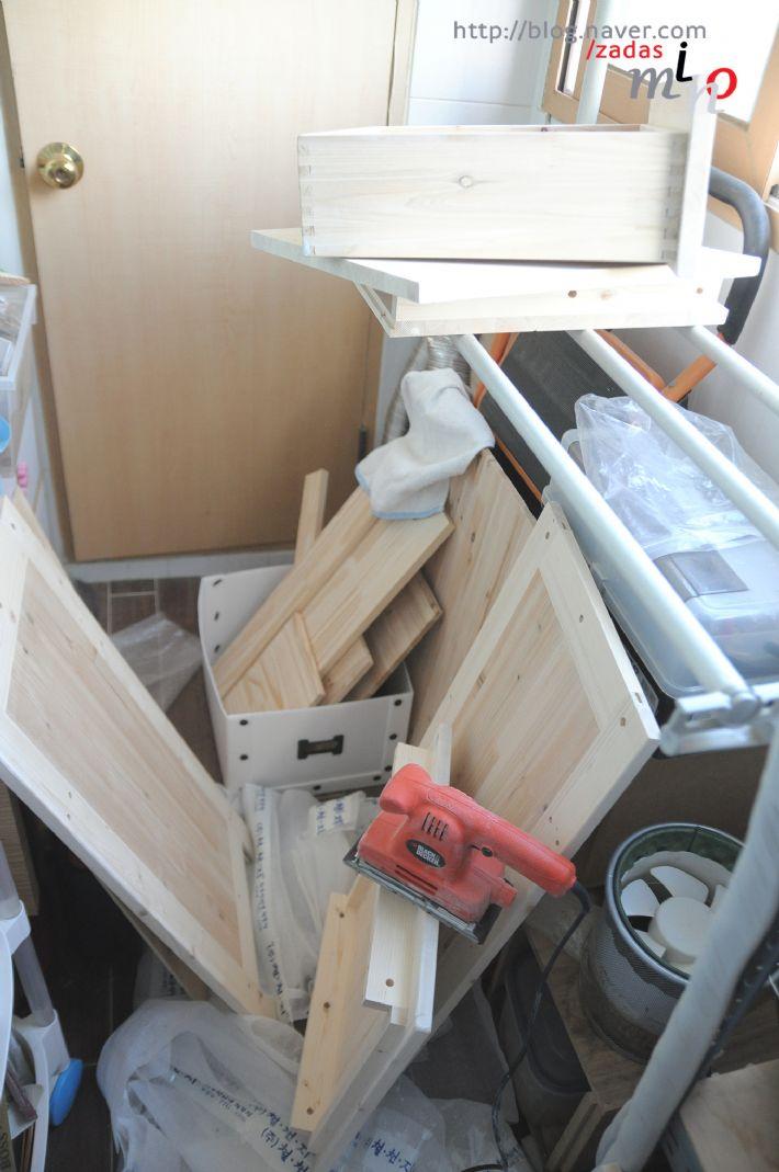회원작품 - 철천지 - 스프러스와 삼나무로 만든 수납장