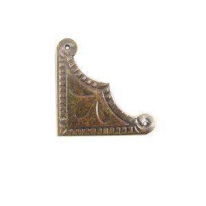 모서리 브론즈 이집트 장식