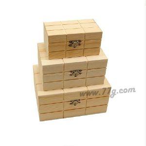원목 사각 체스 박스 중형