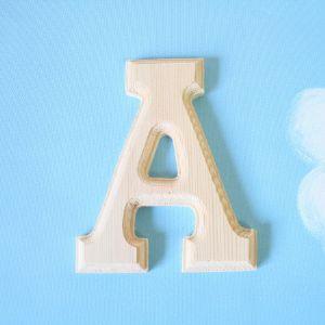 원목 알파벳 이니셜 부착물(50%세일중)