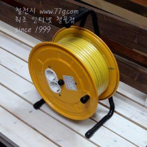 전기연장선(릴작업선) 접지형