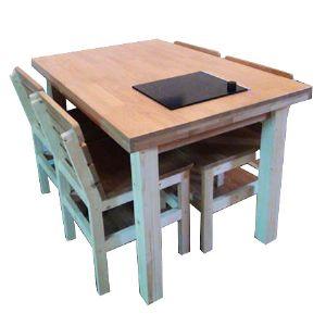 앨프러스 유로 원목 식탁(소나무) (1200*300*600)(1개)