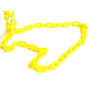 옐로우 플라스틱 사슬 1M당