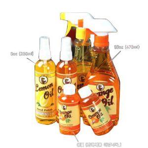레몬&오렌지오일 목재 보호 광택제