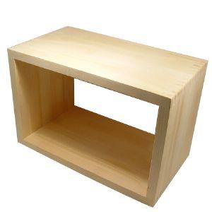 원목 건강 짜임 ㅁ 테이블 24mm (소나무) (350*800*200)(1개)