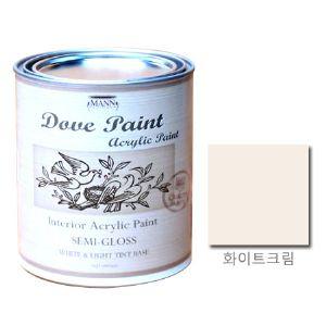 도브 페인트 반광 화이트크림  ...