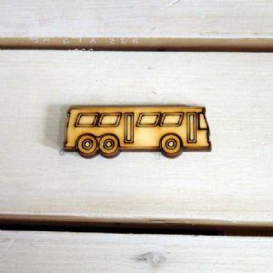 버닝아트 장식물 버스 W 60 ...