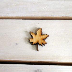 버닝아트 장식물 나뭇잎1 W35mmXH40mm