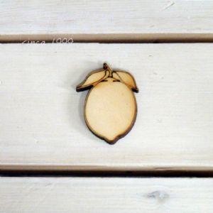 버닝아트 장식물 레몬 W30mmXH50mm