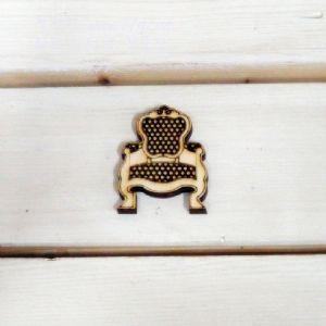 버닝아트 장식물 의자 W38mmXH50mm