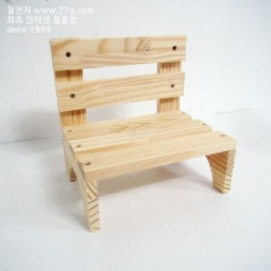 소품 의자 만들기(10 개)