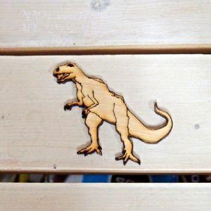 버닝아트 장식물 공룡2 W70XH65mm