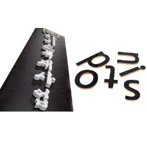 원목 알파벳 이니셜 맞춤 사이즈