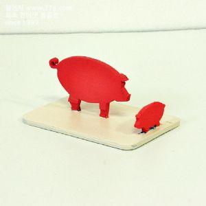 동물 핸드폰 거치대( 돼지 )