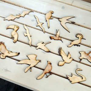 버닝아트 장식물 새