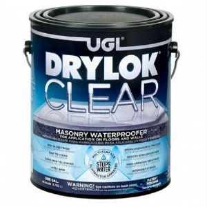 DRYLOK 드라이락 클리어 친환경 수성 방수코팅제(1GAL)